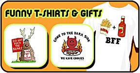 Funny t-shirts & fun gifts
